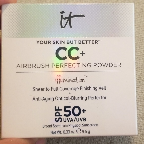 it cosmetics Other - Your Skin But Better CC Airbrush Perfecting Powder